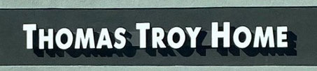 Thomas Troy Home store sign